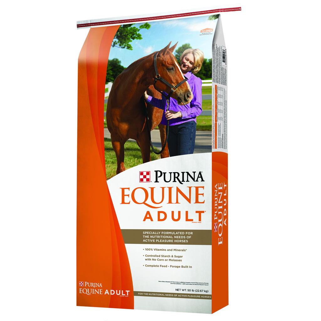 Feed: Purina Equine Adult Horse Feed :: Olsen's