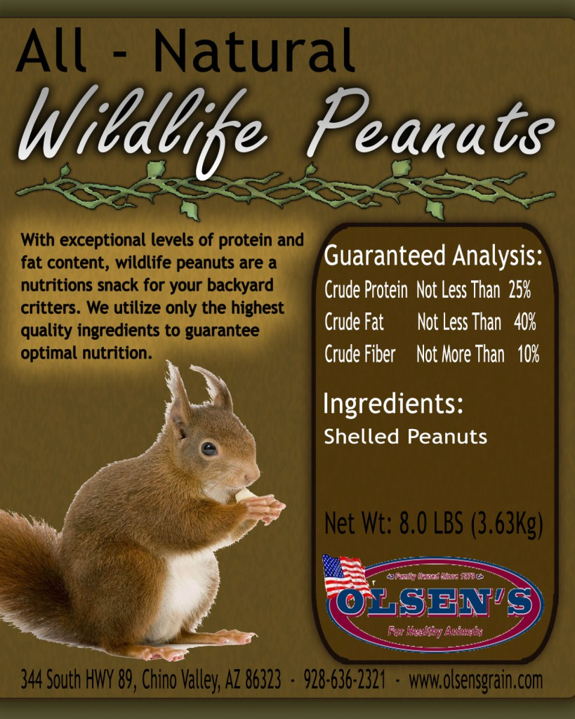 Olsen's Grain Wildlife Peanuts