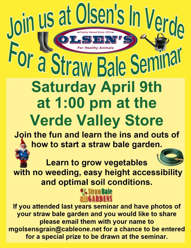 Straw Bale Gardening Workshop