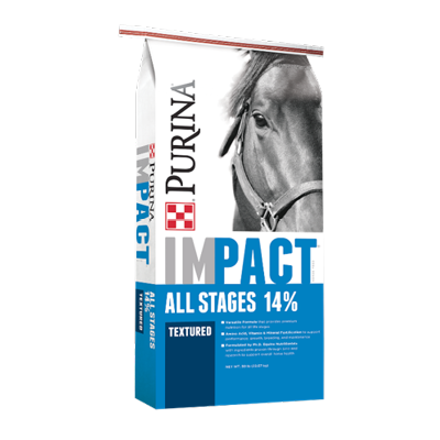 Impact All Stages 14% Textured Horse Feed