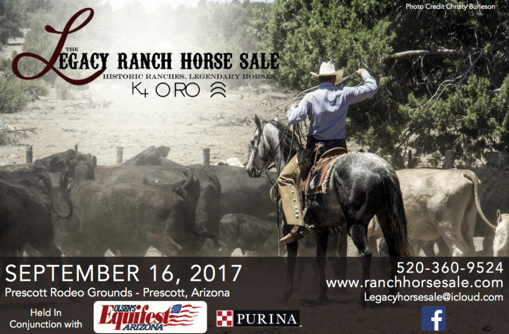 Equifest Legacy Ranch Horse Sale
