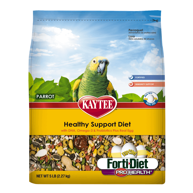 Kaytee Forti-Diet Pro Health Egg-Cite! Parrot Food