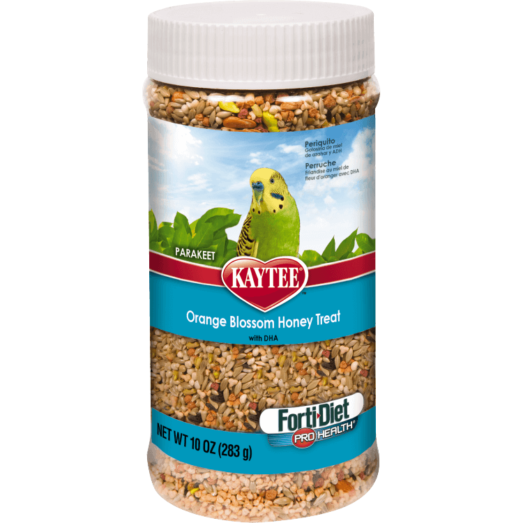 Kaytee Forti-Diet Pro Health Parakeet Orange Blossom Honey Treat