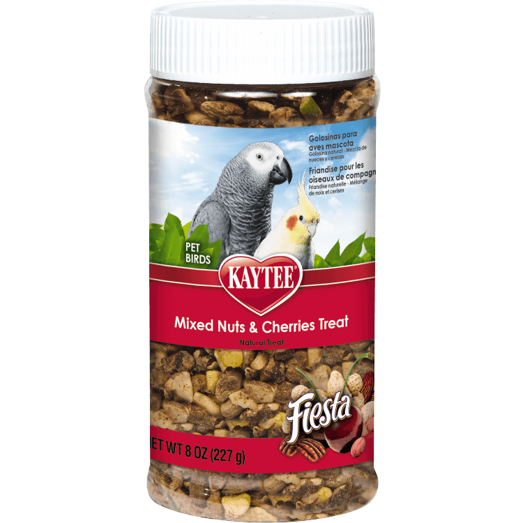 Kaytee Fiesta Mixed Nuts and Cherries Treat for Pet Birds