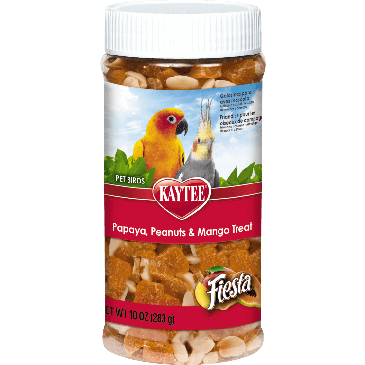 Kaytee Fiesta Papaya, Peanuts and Mango Treat for All Pet Birds
