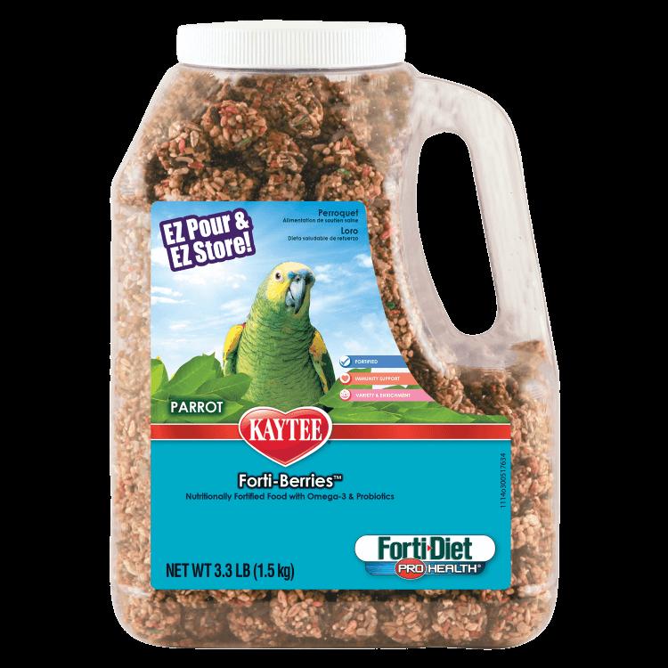 Kaytee Forti-Diet Pro Health Forti-Berries Parrot Food