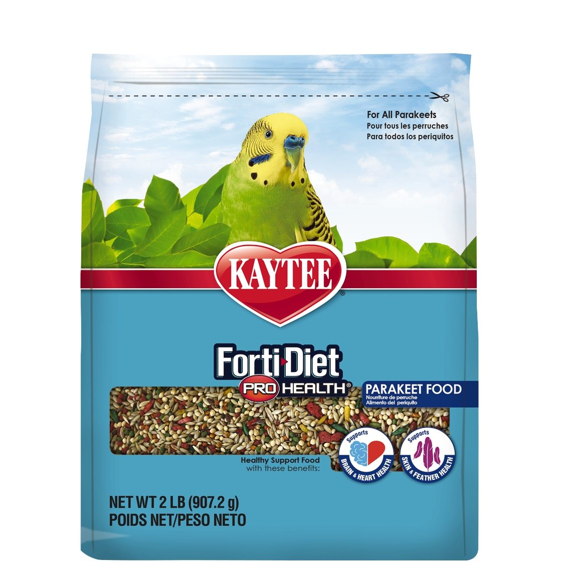 Kaytee Forti Diet Pro Health Parakeet Food