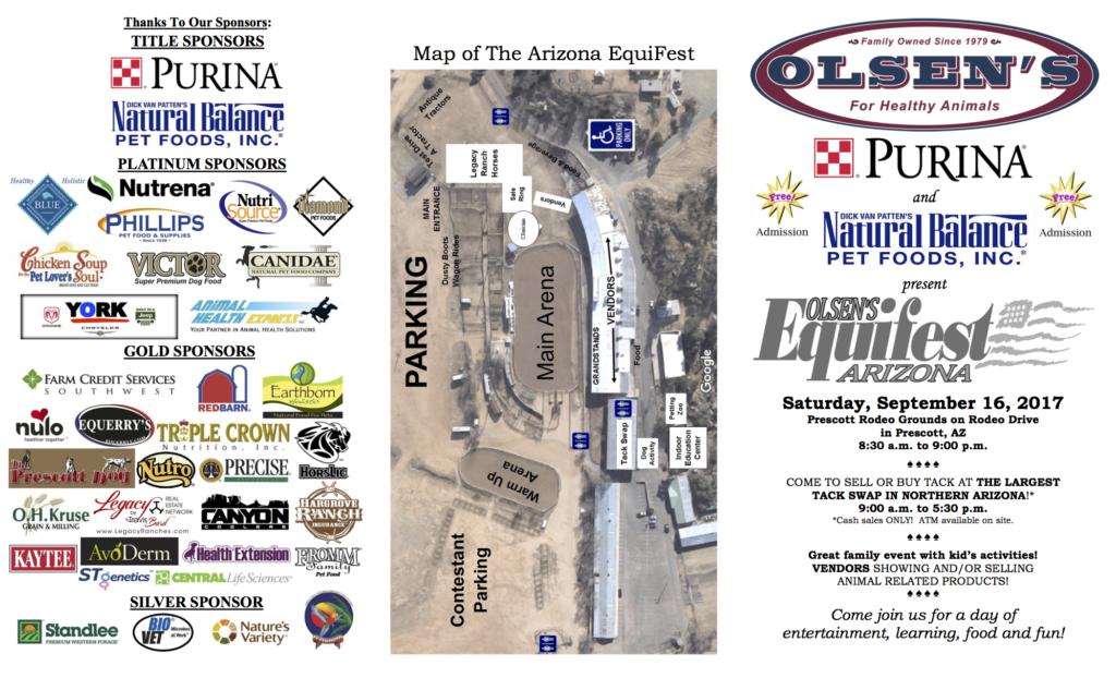 2017 Equifest Event Schedule