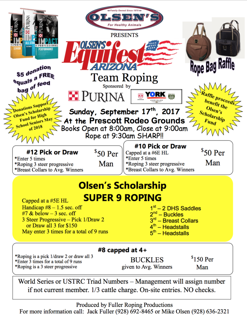 2017 Equifest Team Roping Event