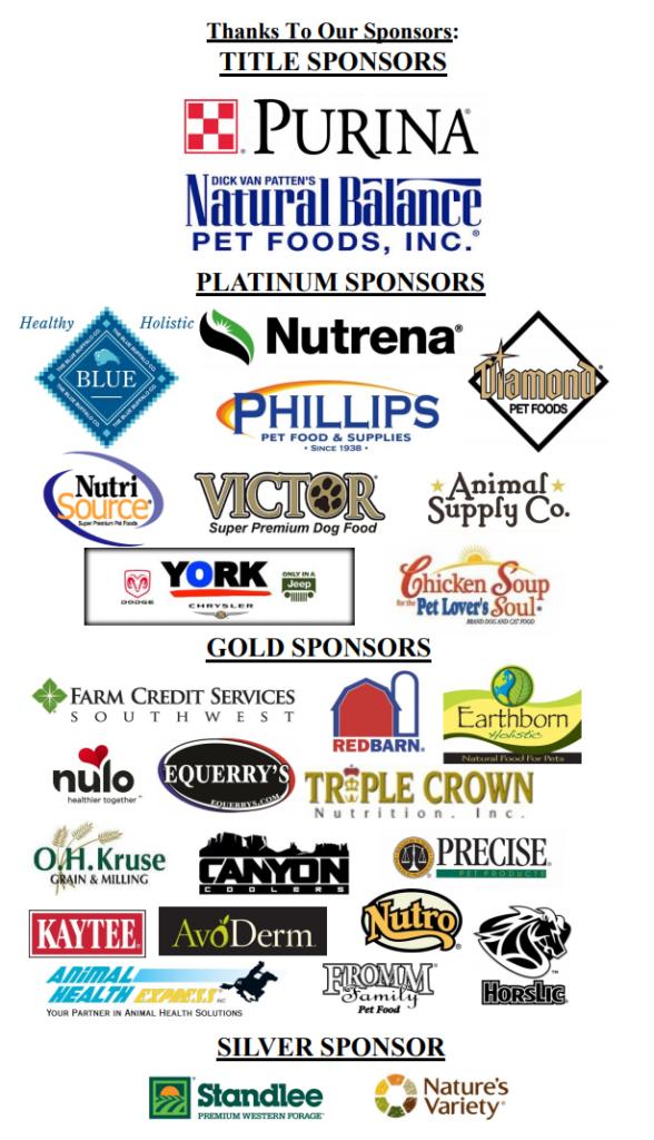 Arizona Equifest 2017 Sponsors