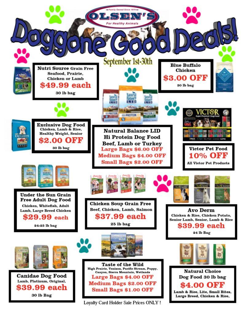 September 2017 Family Pet Rewards