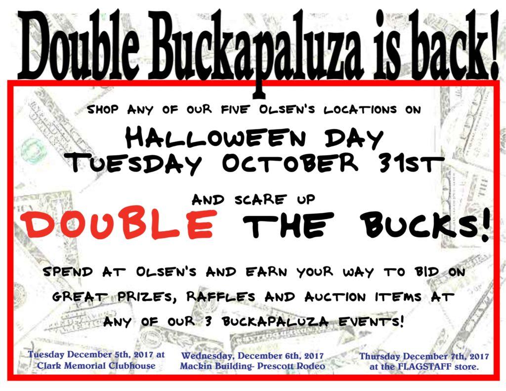 Double Buckapaluza Event