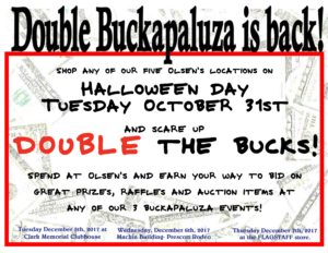 Double Buckapaluza Event