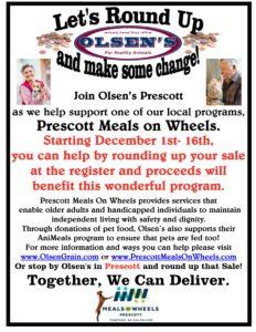 Prescott Meals on Wheels Round Up Program