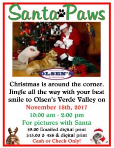 Santa Paws | Olsen's Grain and Feed