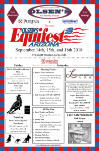 2018 Arizona Equifest | Olsen's Grain & Feed