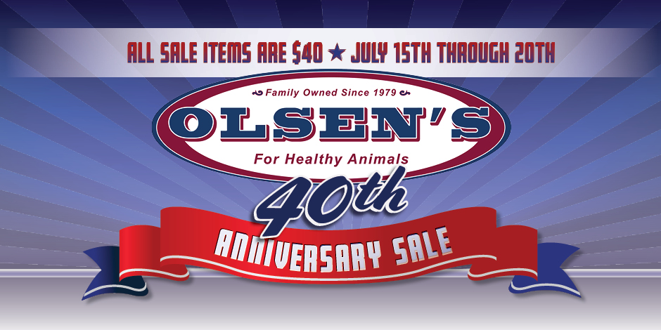 Olsen's Grain 40th Anniversary
