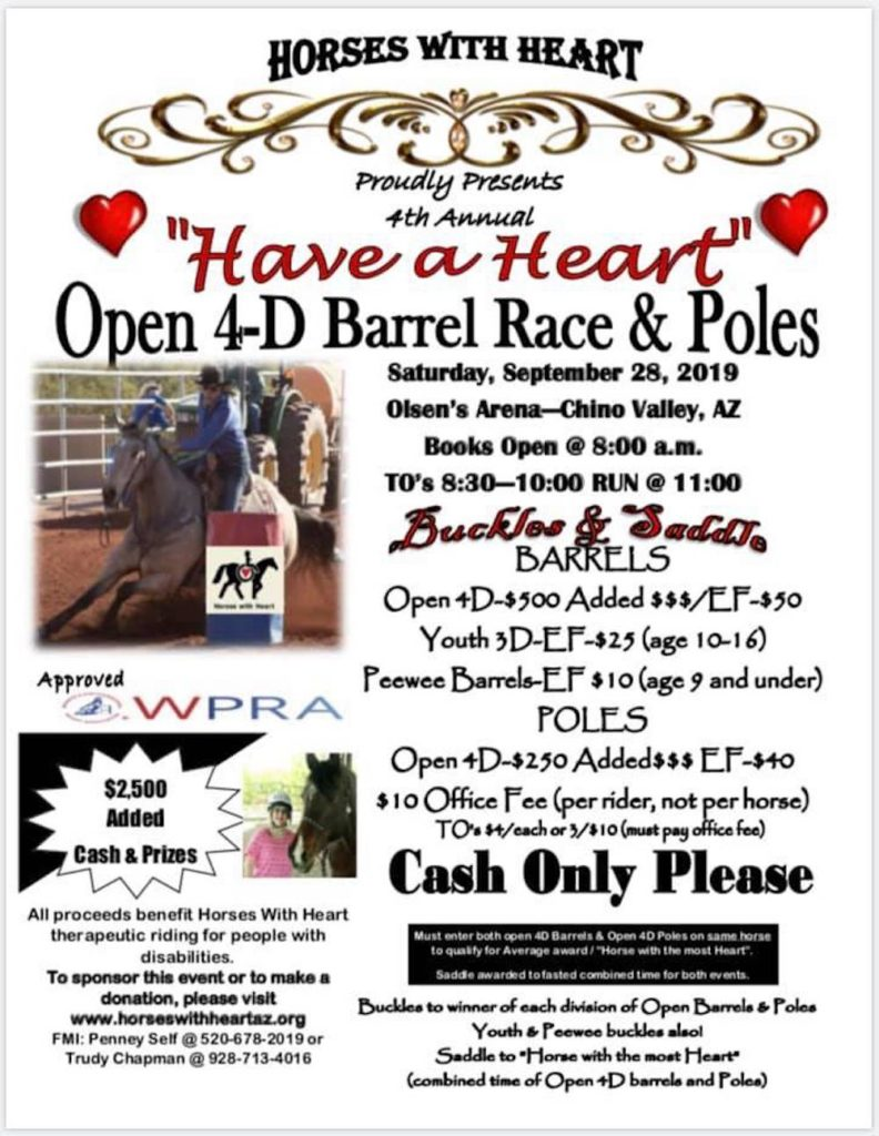 Have a Heart Barrel Race and Poles
